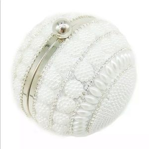 Silver and Pearl Sphere bag